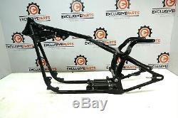 01 HARLEY HERITAGE SOFTAIL FLSTCI FRAME CHASSIS STRAIGHT + Rear Suspension 5016
