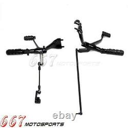 04-13 Forward Control Foot Pegs Levers Linkages For Harley Sportster XL 1200 883