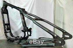 04-up Harley XL/Sportster Weld-on Rigid Frame Hardtail, 4 Stretch, 150 Width