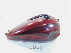 10-17 Harley Davidson Dyna Wide Glide Street Bob Fuel Gas Petrol Tank Dented