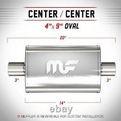 11219 Magnaflow Muffler New Oval