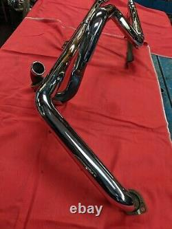 1997- 2011 Harley Davidson SOFTAIL USED VANCE & HINES Chrome DUEL FULL EXHAUST