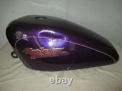 1998-2003 Harley Davidson Sportster XL1200 XL883 FUEL GAS PETRO TANK, CHOPPER
