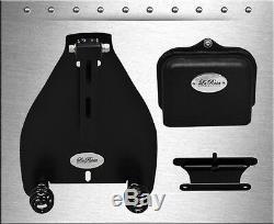 2000-2019 La Rosa Harley Softail Solo Seat Mount Kit + 3 Black Barrel Springs
