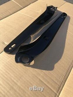 2006-2013 HARLEY FXDBI DYNA STREET BOB Rear Fender Strut Right Left GLOSS BLACK