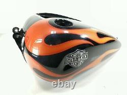 2012 Harley Davidson FXD WG Dyna Gas Fuel Tank DAMAGED