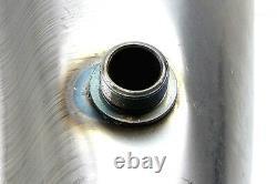 2FastMoto Harley 36-84 Custom 5 Gallon Split Fat Bob Style Gas Tank Raw Steel