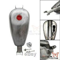 2.4 Gallon EFI Gas Fuel Tank For Harley Sportster XL Models (XL883 1200 X48 X72)