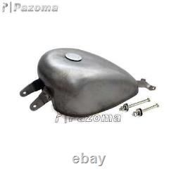 2.4 Gallon Gas Fuel Tank EFI Injection For Harley Sportster XL883 XL1200 X48 X72