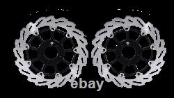 2x Harley D. Flhtcui Electra Glide Ultra Classic Front Brake Rotors Floating