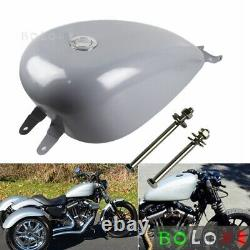 3.3 GAL EFI Gas Tank For Harley Davidson Sportster XL 883 1200 Iron883 2007-2019