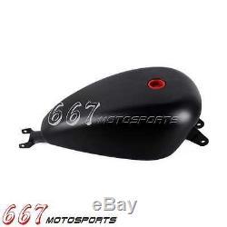 3.3 Gallon Black EFI Gas Tank For Harley Sportster XL 2007-2017 Bobber Chopper