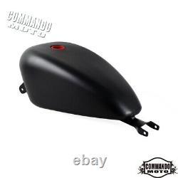 3.3 Gallon Gas Tank for Harley Davidson Sportster XL 883 XL1200 2007-2021 Black