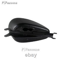 3.3 Gallon Smooth EFI Gas Fuel Tank Black For Harley Sportster XL1200 883 07-19