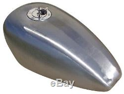 3.4 Gallon Rubber Mounted Big Capacity Gas Tank 1994-Later Harley Sportster