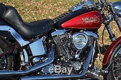 3.5 Gallon Flatside Fat Bob Boy Heritage Fuel Gas Tank 1984-1999 Harley Softail
