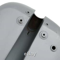 5 Stretched 4.7 Gallon Gas Fuel Tank For Harley Custom Chopper Motorcycle Bikes