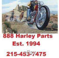 6.5 Inch Front Steel Fender E-Z Bolt on Wide 21 x 3.5 Wheel Harley Touring FLHT