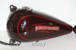 86-99 Harley davidson Softail Left And Right Side Gas Tank OEM Paint (P-71)