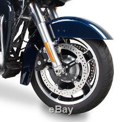 Arlen Ness Left Side 14 Big Brake Floating Rotor Kit 08-13 Harley FLT Touring