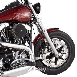 Arlen Ness Left Side Front Rotor Wave 15 Big Brake Kit Disc 06-2017 Harley Dyna