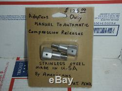 Automatic compression releases s&s ultima screamin eagle tp harley jims motor