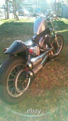 BOBBER FRISCO 2.5gl Gas Tank Harley Sportster XL 1200 EFI Fuel Injection 883 07+