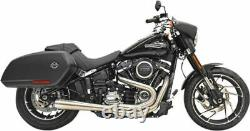Bassani Road Rage 3 2-1 Stainless Exhaust Pipe System Harley Softail M8 18-21