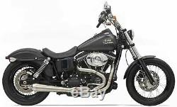 Bassani Road Rage III 2-Into-1 Exhaust System 1D1SS Harley FXD Dyna 91-17