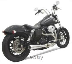 Bassani Stainless Road Rage III 2-Into-1 Exhaust System Harley FXD Dyna 91-17