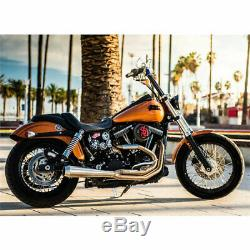 Bassani Stainless Road Rage III Exhaust System 1991-17 Harley Dyna Models