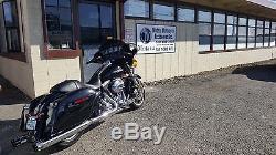 Black 4 Roaring Series MF-05 Slip-On Mufflers Exhaust 1995-2016 Harley Touring