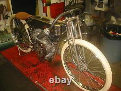 Board Track Racer 4inch fat/snow bike Bicycle Frame, Harley Indian Tribute