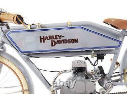 Board track racer indian harley gas tank cafe steel