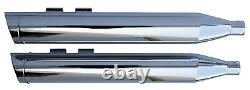 Chrome 3.5 Exhaust Mufflers Harley Electra Glide Road King Street Ultra 95-16