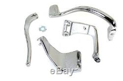 Chrome Further Forward Mid-Control Kit, for Harley Davidson, by V-Twin