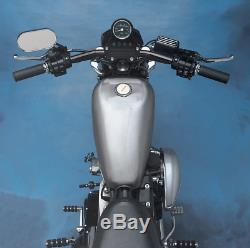 Drag Specialties 2.25 Gallon Steel Fuel Gas Tank 82-94 Harley Sportster XLH XLS