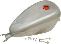 Drag Specialties 3 Gallon Peanut Gas Fuel Tank For Harley Davidson XL 04-06