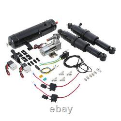 Electric Center Stand & Air Ride Suspension & Air Tank For Harley Touring 09-16