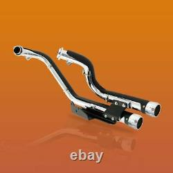 Exhaust Mufflers Pipe Shield Fit For Harley Davidson Sportster XL883 1200 14-21