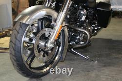 FLT Wrapped Steel Front Fender Raw fits Harley-Davidson
