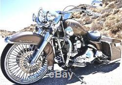 Fat Spoke Wheel 21x3.5 & 16x3.5 Dna Harley Softail Fatboy Slim Deluxe Heritage