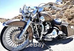 Fat Spoke Wheel 21x3.5 52 Spokes For Harley Touring Bagger Models New