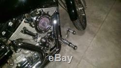 For Harley Davidson Dyna Super Glide 2000-2015 FXD FXDL ALU Forward Controls