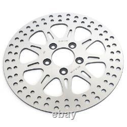 Front Rear Brake Discs Disks For Harley Softail 1450 1584 1690 FLSTF FLSTN FLSTC
