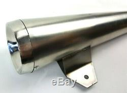 Full 2-1 Exhaust Harley Davidson Sportster 1988-2003 Stainless Steel Brushed