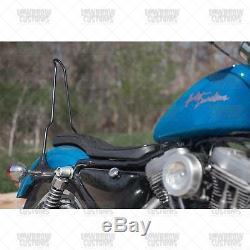 Gasbox Chopper Bolt On Sissy Bar 1994-2003 Harley-Davidson Sportsters XL bobber