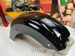 Genuine 09-21 Harley Touring Street Glide Rear Fender Black