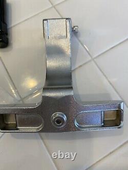 Genuine Harley Heritage Springer Passenger Foot Floor Boards Chrome OEM Softail