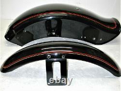 HARLEY DAVIDSON Softail Custom 1994 FXSTC OEM Motorcycle Fender Set